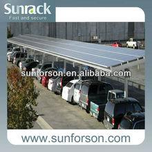 High snow load solar carport