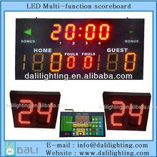 Maintenance Free scoreboards wireless electronic scoreboard basketball