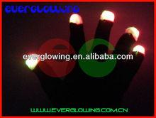 led glitter gloves