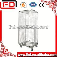 3-Side Folding Steel Storage Steel Warehouse Cage