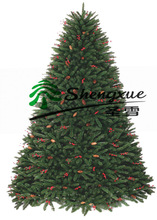 2013-2014 new PVC christmas tree with decoration