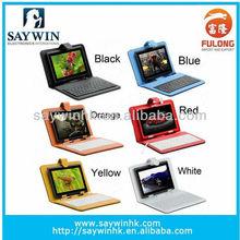 "Universal Folio 7"" USB Tablet PC Key Board Case 6 colors"