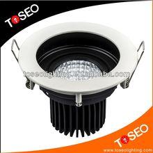 recessed downlight zinc-alloy TUV 5w led cob