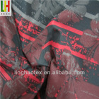100Poly Printed coated microfiber fabric for fashion jacket