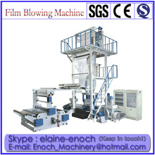 Three Layer Coextrusion Package Plastic Film Blowing Machine(EN-3L)