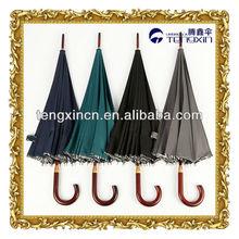 16 ribs fiberglass stick umbrella