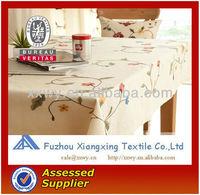 100% cotton custom western fancy tablecloths