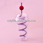 Straw Cup/party Yard/yard Glasses Cup With Straw 2013 New Products