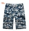 Alta moda 100% poliéster shorts para homens venda quente