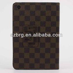 for ipad mini magnetic leather case, luxury design for ipad mini