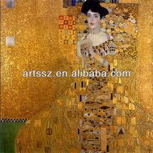 Portrait of Adele Bloch-Bauer -Gustav Klimt oil painting