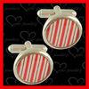 custom wedding cufflinks with epoxy with good quality and low price