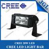 5.5inch 20W CREE LED light bar 12v off-road led lighting 4x4 cars, trucks,atv,utv light bars led,car accessory