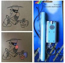 Uv permanente marcador invisível caneta - Anti falsificação UV marcador CH-6001-packed com cartão da bolha / ideal como produtos de proteção