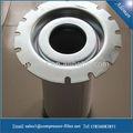 Atals Copco compresor de 2901 1643 00 separador de aceite de aire filtro de cartucho