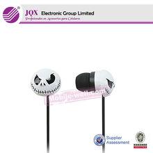 Skull design earphone for mobile