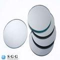 excelente calidad silve en forma de espejo de vidrio
