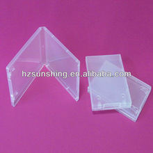 hot sale!crystal clear clam shell plastic package carrier