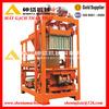 QTJ4-40 Semiautomatic mobile cement block making machine