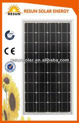 Sunpower best price mono 140w solar panel ,high quality solar panel with CE TUV certificate