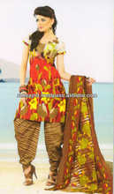Fashion Boutique Ladies Gala Printed Design Salwar Kamiz 2013