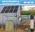energia solar bomba de água submersível para irrigação agrícola