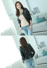 Korea Fashion Outwears Stone Leather Jacket - KYCCM15030