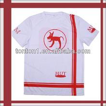 wholesale summer men fashion sublimated tshirt