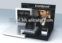 acrylic/plexiglass call phone holder/perspex displays holder