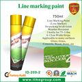 Aerosol estrada / linha tinta de marcação, Fornecedor chinês ( sgs, Alcance, Rohs, Iso9001 )