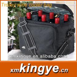Trolley wine cooler bag
