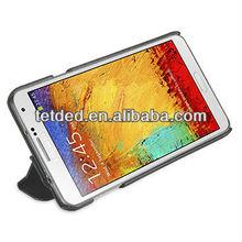 OEM Premium Leather Case for Samsung Galaxy Note 3/III N9000 N9002 N9005 -- Quimper (LC: Black)