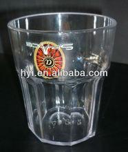 plastic 400ml pc unbreakable mug/glass