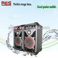 10'' potente subwoofer/de rock al aire libre altavoz subwoofer activo/pro equipo de la acústica