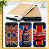 high quality phone case wood phone case for apple iphone 5 5s with custom design