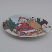Disposable Christmas paper plate