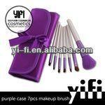Hot Sale! Cosmetic Brush Set Mini 7 Pcs Makeup Brush Set Xmas gift