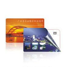 PVC plastic membership card magnetic stripe and signature panel smart card