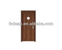 europe style pvc plastic swing doors with waterproof