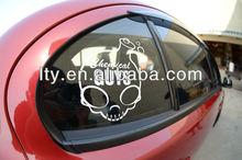 car side mirror white clear sticker decals (M-A209)