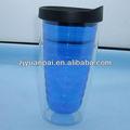 16oz de plástico de color tritan vasos con inserción extraíble