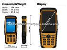 "IP-67 Anti-shock Anti-Dust Waterproof Mobile 3.5"" compact rugged handheld device"