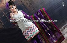 Exclusive Salwar kameez - Heavy Embroderied Cotton salwar kameez - Wholesale Salwar kameez - @ $ 35.00