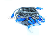 PVC jacket custom special cable with waterproof plug
