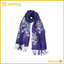 handmade lady high quality polyester scarf