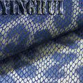 Yr-5101 6.5oz gilding leopardo impreso pantalones vaqueros para las mujeres