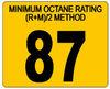 Gasoline 87 Octane