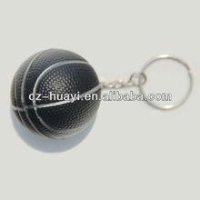 PU gift basketball keychain
