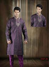 Fancy purple Kurta designs for men