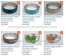 SPH007 shamballa bangle wholesale, 7-9 inch per pc